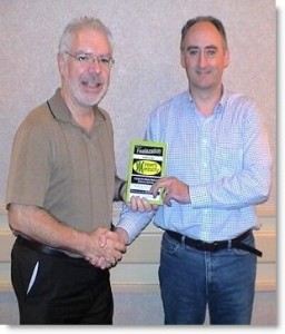 Martin Kiely NGH Consulting Sports Hypnotist with Bob Reese