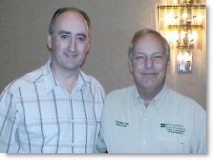 Martin Kiely NGH Consulting Hypnotist with Don Mottin