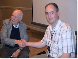 Martin Kiely Consulting Hypnotist with Ormond McGill