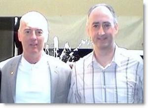 Martin Kiely Consulting Hypnotist with Tom Nicoli