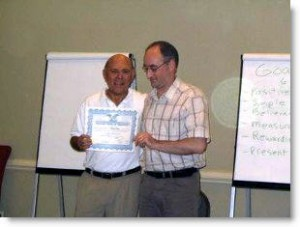 Martin Kiely NGH Consulting Hypnotist and Certified Instructor with Richard Harte