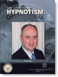 Martin Kiely NGH Consulting Hypnotist Journal of Hypnotism cover